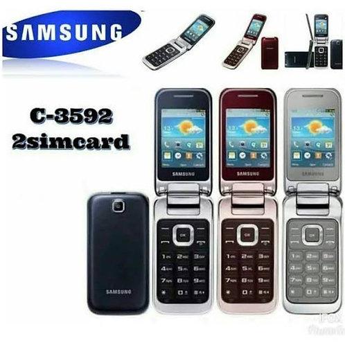 Samsung GT-C3592 Flip Phone New Unlocked