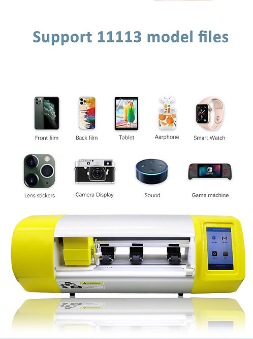 Automatic Cutting Machine, Hydro Gel Film  Front & Back Protective Sticker