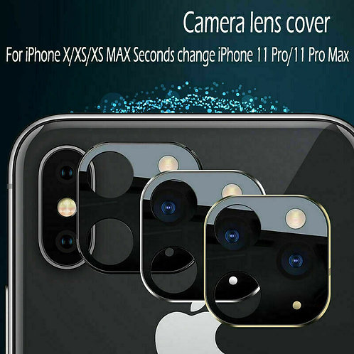 Lens Sticker for iPhone X XS MAX Camera Change to Fake iPhone 11 Pro