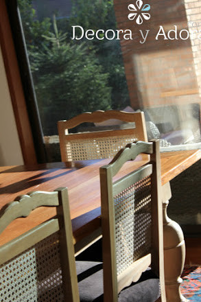 mesa reciclada , hazlo tu mismo en bello comedor