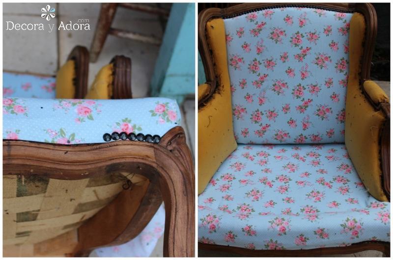 diy tapizar sillón fácil