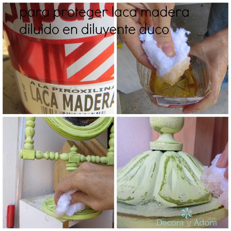 pintar aspecto envejecido / how to paint in two colors with look old