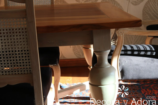 restaurar mesa con muñequilla