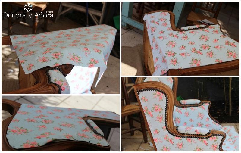 sacar fotos para tapizar sillón