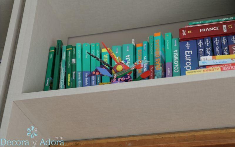 libros de viaje en biblioteca
