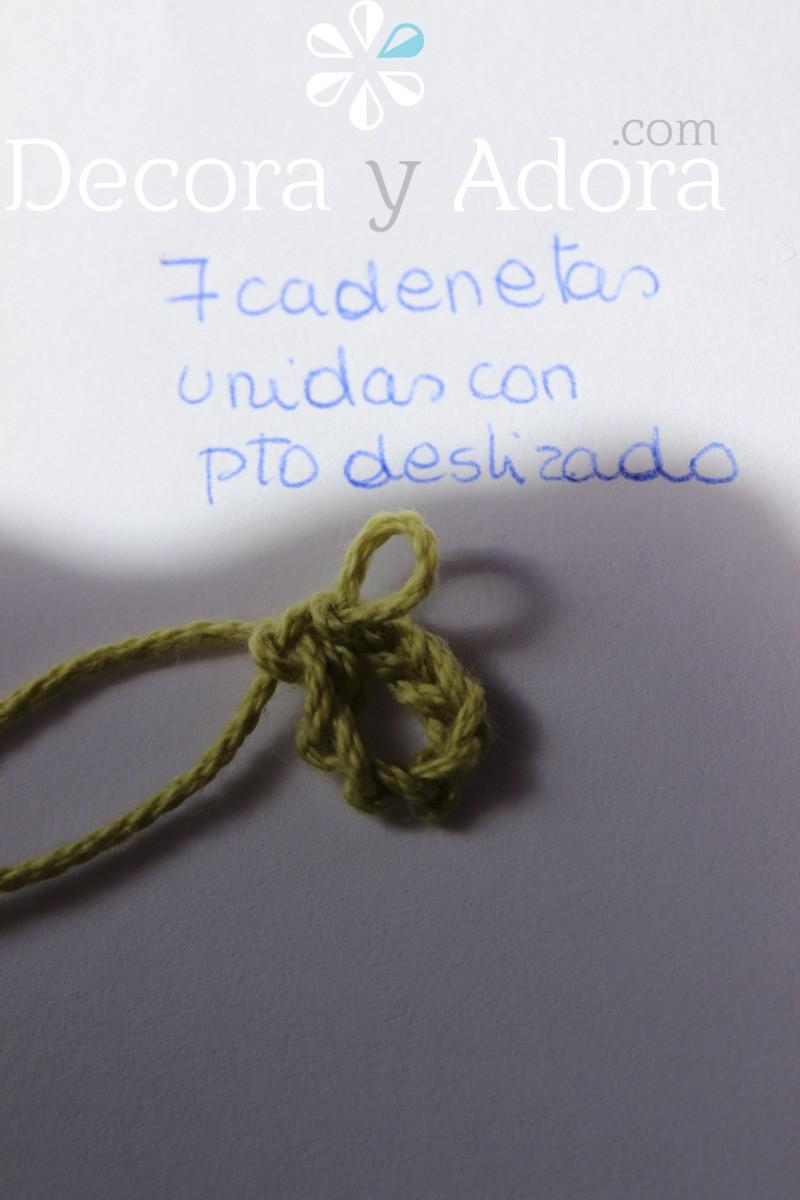 detalle funda de termo a crochet