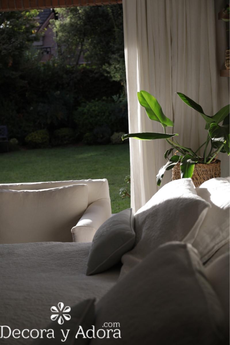 vistas al jardín dormitorio matrimonial