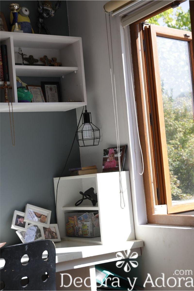 decoración dormitorio niños varones en tonos grises