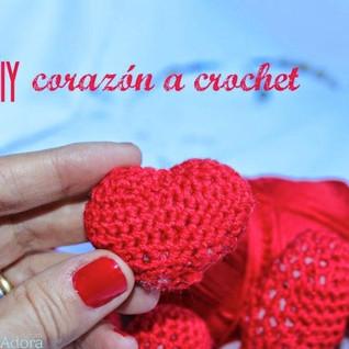 diy corazón a crochet