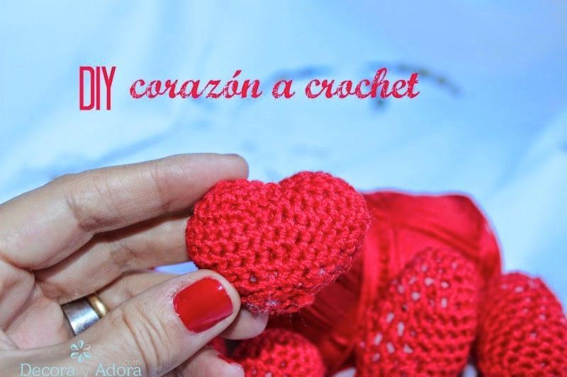 como hacer un corazón para rellenar a crochet