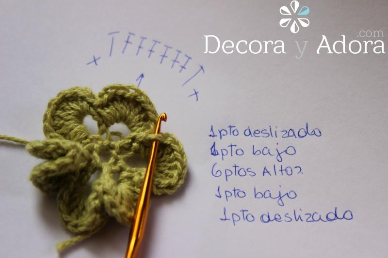 flor funda de termo a crochet