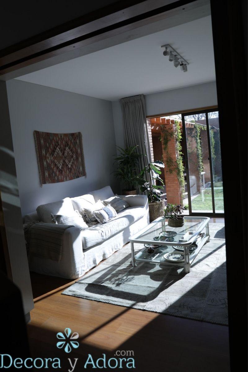 sala de estar estilo nordico