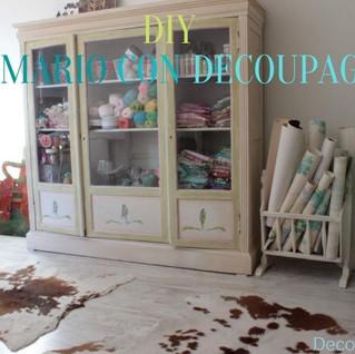 Como transformar un mueble antiguo con decoupage