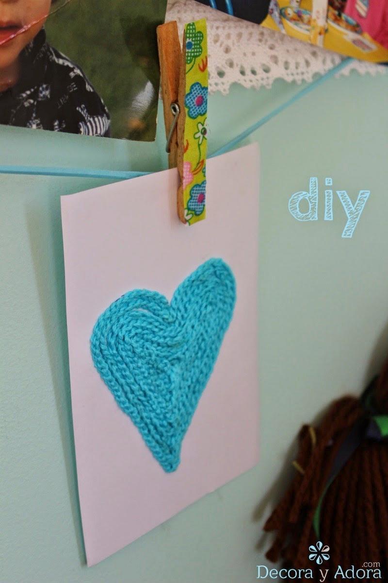 como hacer tarjeta de corazón