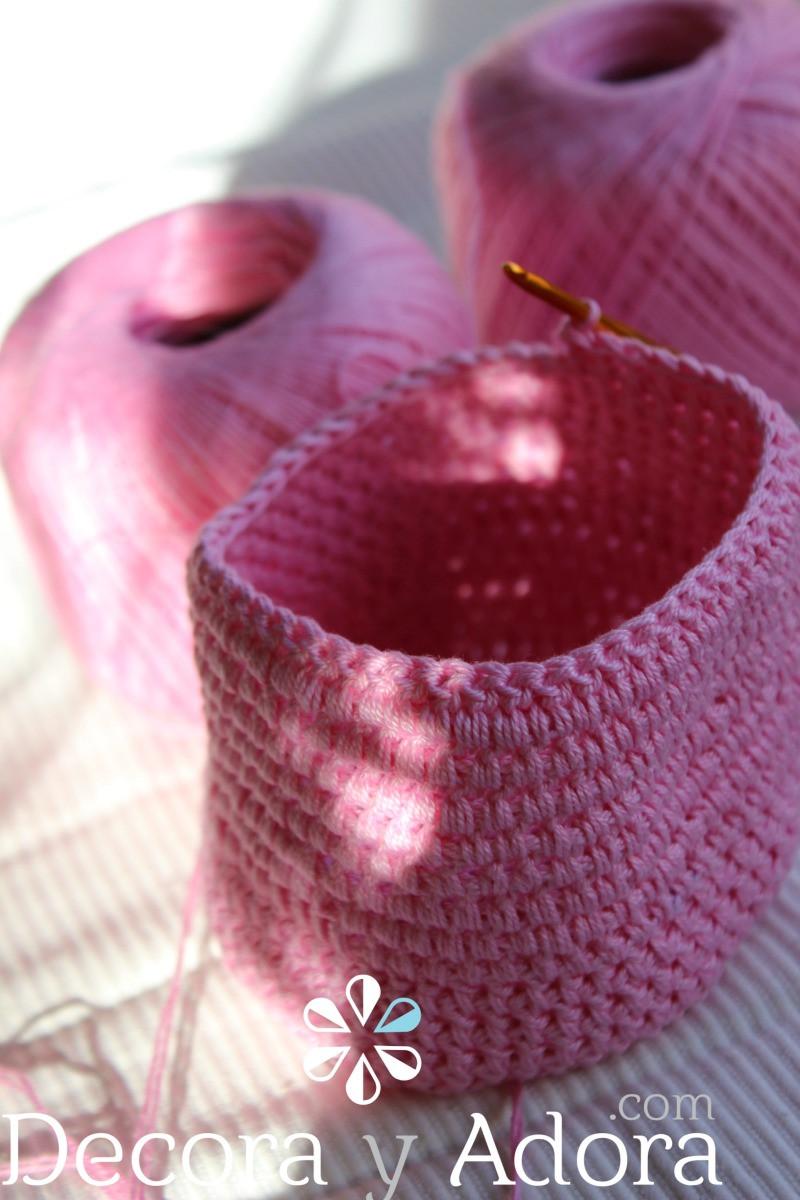 tejer funda de termo a crochet