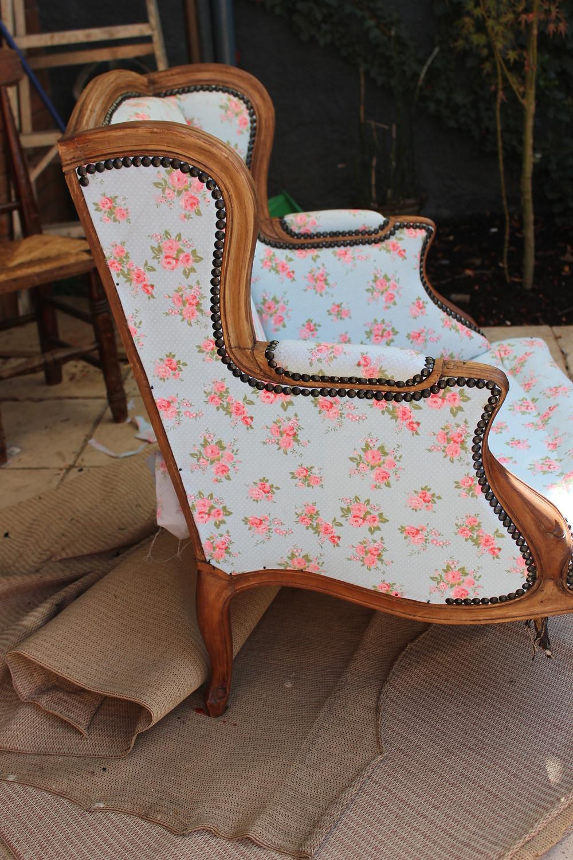 tapizar sillón de forma fácil