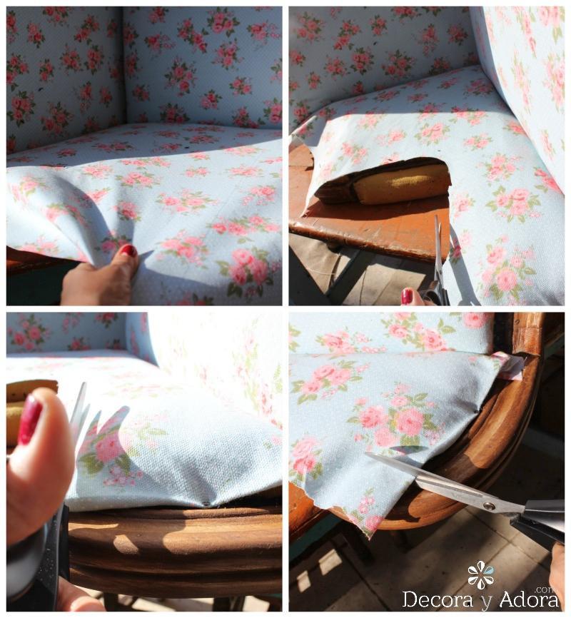 tapizar sillón juvenil