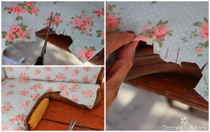 como tapizar un sillón tutorial