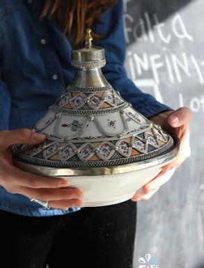Tajín ceramico de Marruecos
