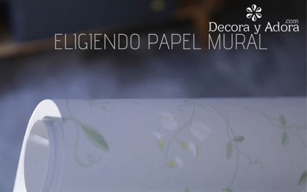 PAPEL MURAL FLORES PEQUEÑAS