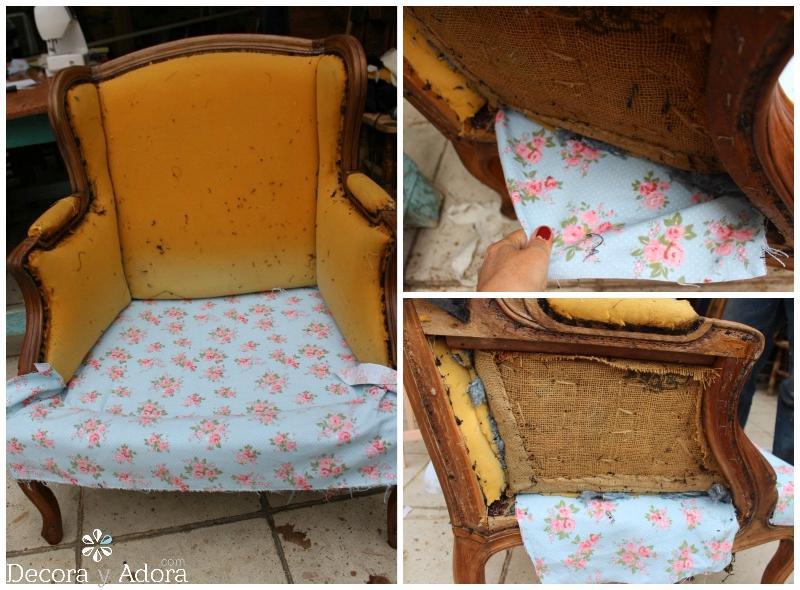 tutorial tapizar sillón