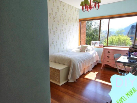 papel mural dormitorio Rosario