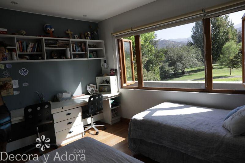 decoración dormitorio niños en tonos grises