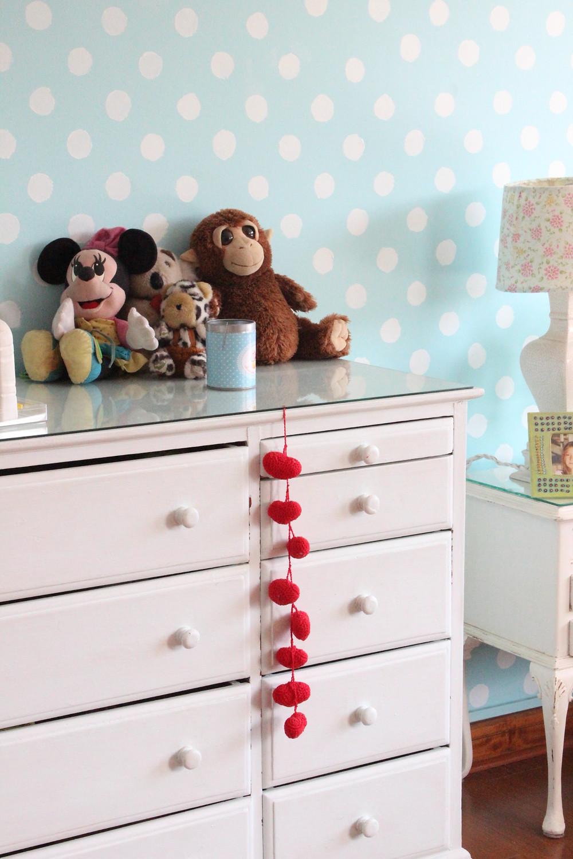 lindo dormitorio decorado niña