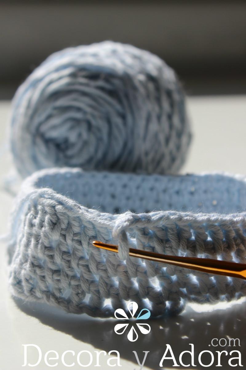 hazlo tu mismo funda de termo a crochet