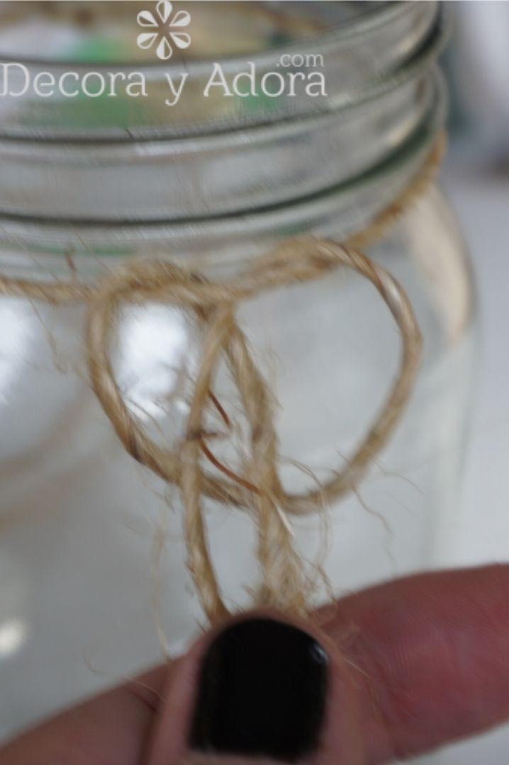 se hace nudo con cuerda de sisal