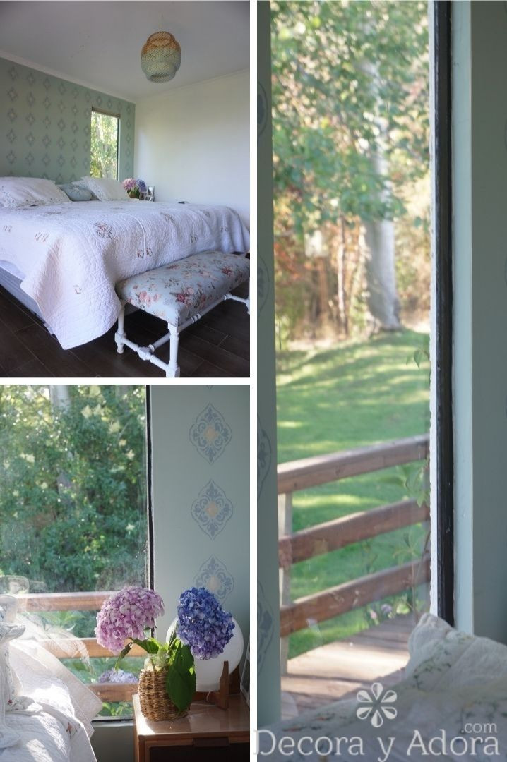 lindo dormitorio casa del lago