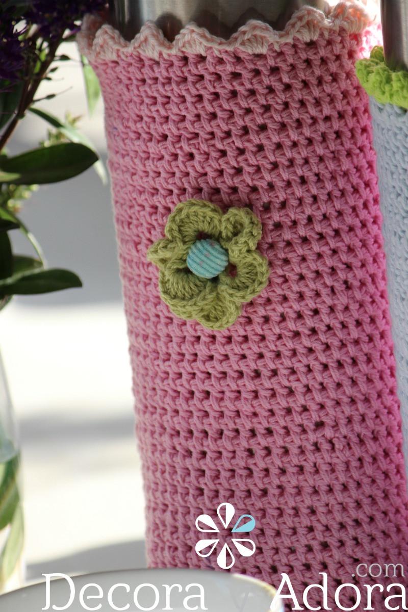 2 funda de termo a crochet
