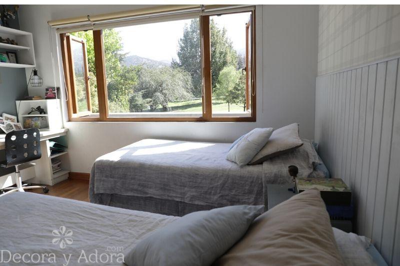 decoración dormitorio niños en grises