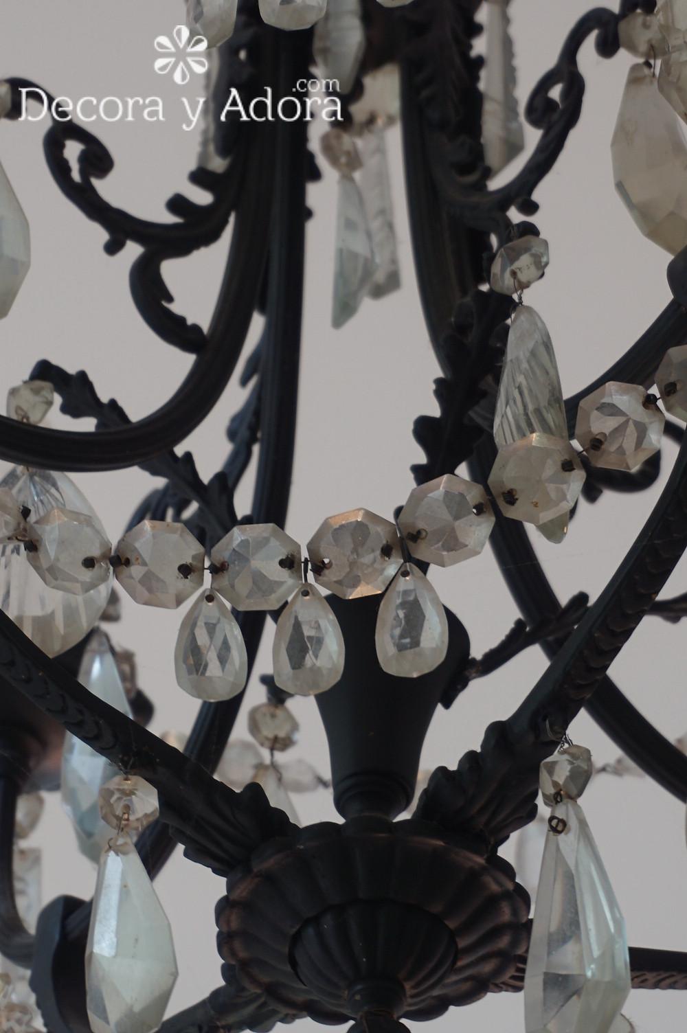 COMO RESTAURAR LAMPARA ANTIGUA DE LAGRIMAS