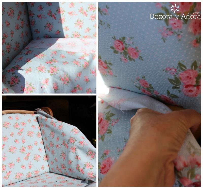 como tapizar un sillón por ti mismo