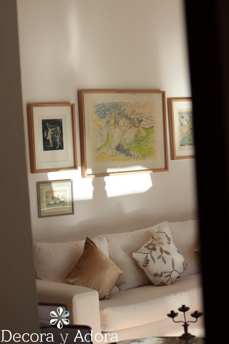 litografias de Matta  en living