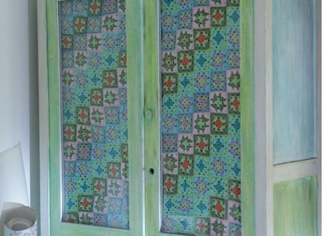 cortina a crochet
