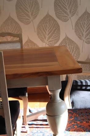 cubierta  de mesa comedor restaurada