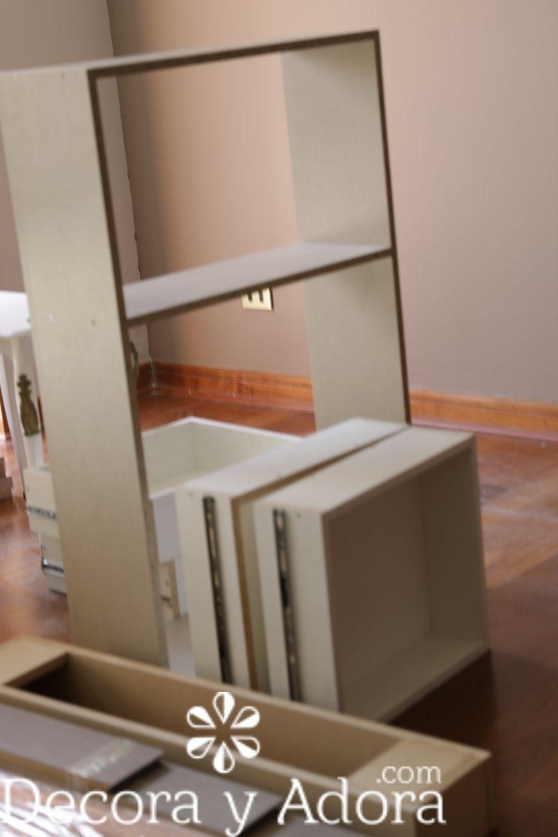 mdf para mueble de biblioteca