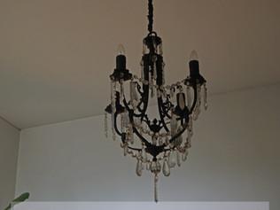 restaurar lámpara antigua