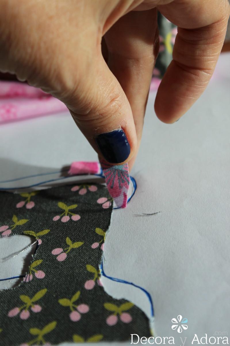 paso a paso de funda de máquina de coser