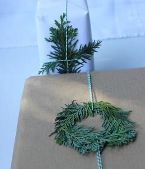 diy envoltorio navidad