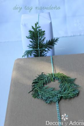 hacer un bonito envoltorio navidad