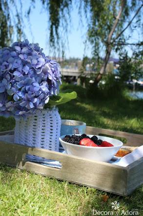 sacar moras para mermelada en verano