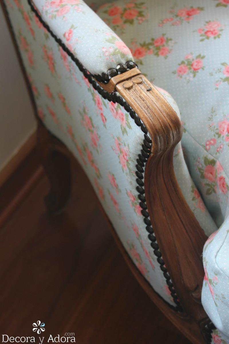 como retapizar sillón fácil