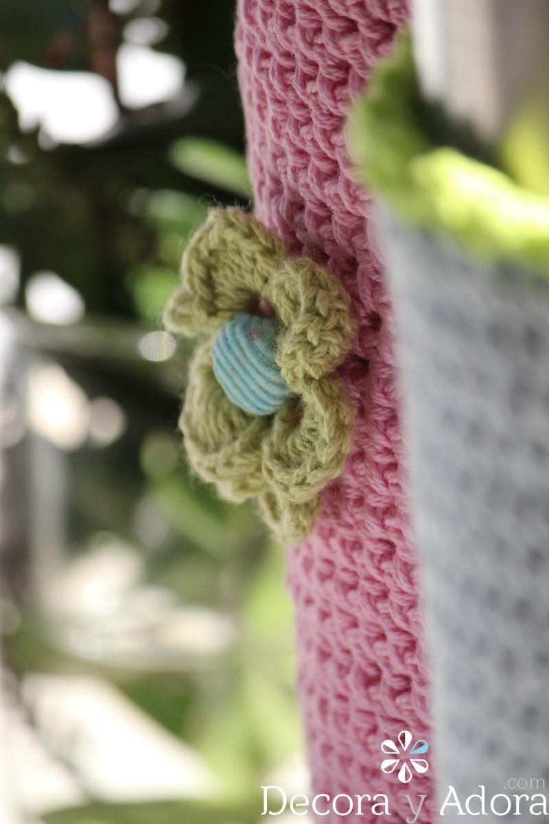 tejer simples fundas a crochet