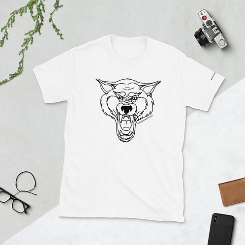 Wolf Growl Unisex Shirt