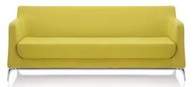 Mina 3 Seater Yellow