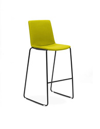 Balance Commercial | Elissa Sled Stool Uphpolstered