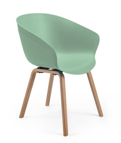 Balance Commercial | Peachy Moss Green Timber Legs